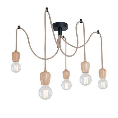 Pendant Lamp Line | Light Wood