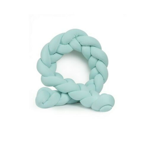 Dekorativer Kissenschlangenknoten | Hellgrün