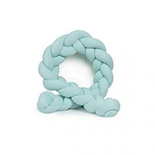 Dekoratives Kissen Schlangenknoten 400 cm | Hellgrün