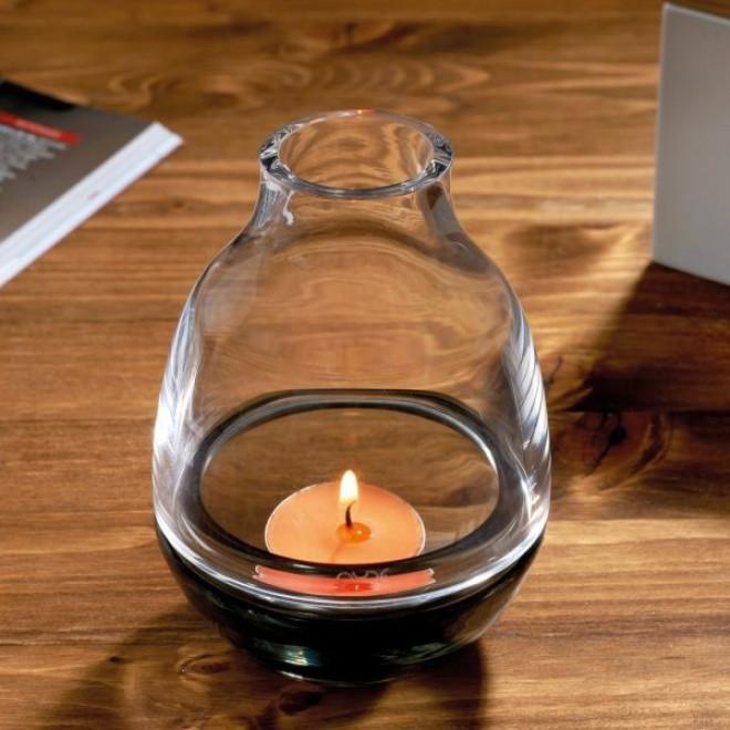Eden Candle Holder | Smoke