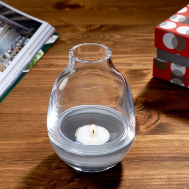 Eden Candle Holder | Clear