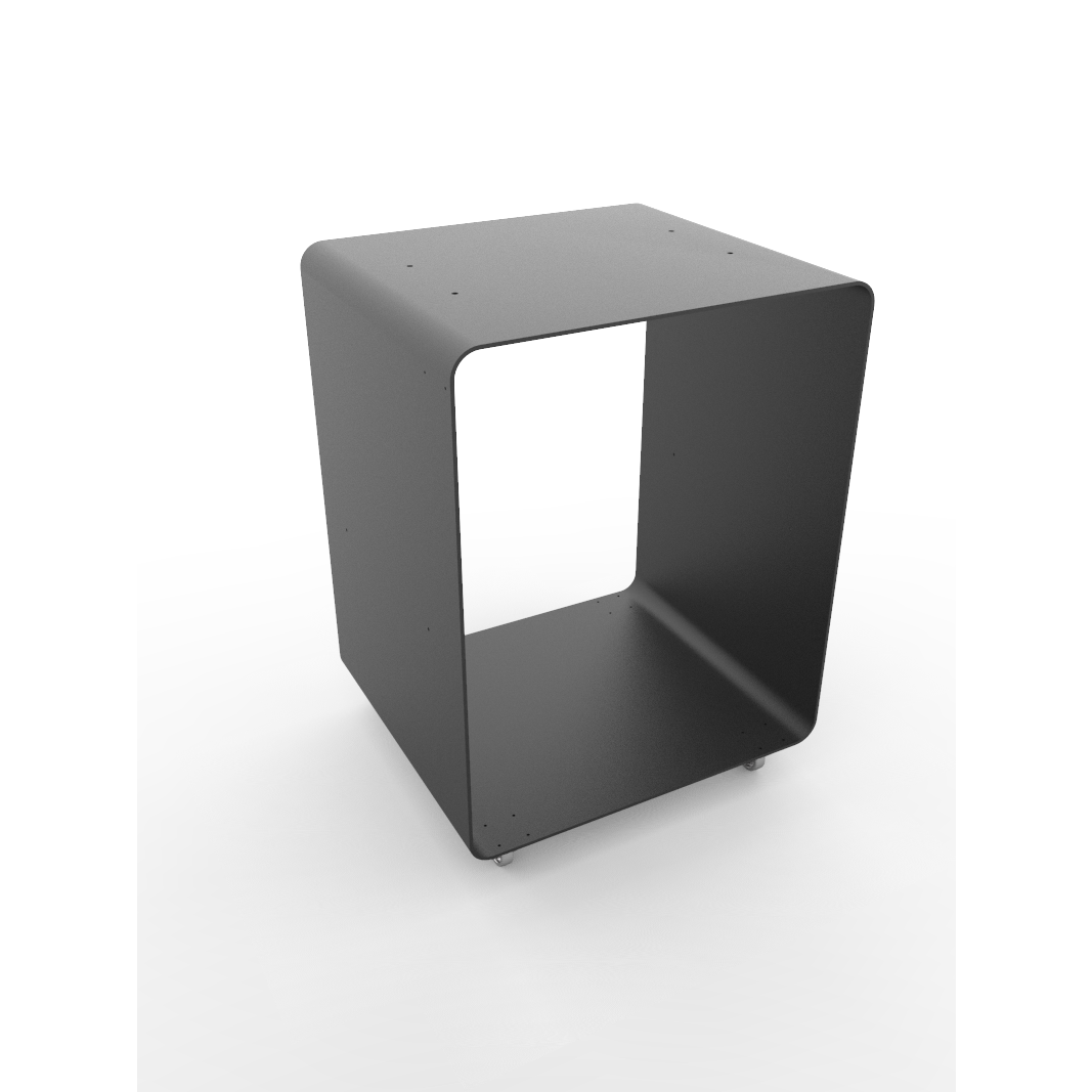Holzlagerung Mobile BloQ | Schwarz