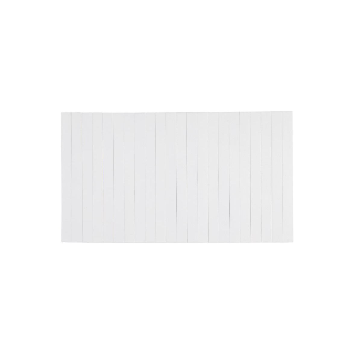 Flexible Wooden Tray Medium | White