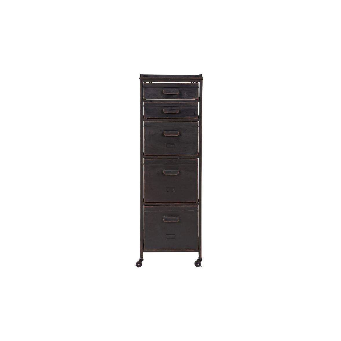 Cabinet Stuff   Metal Black