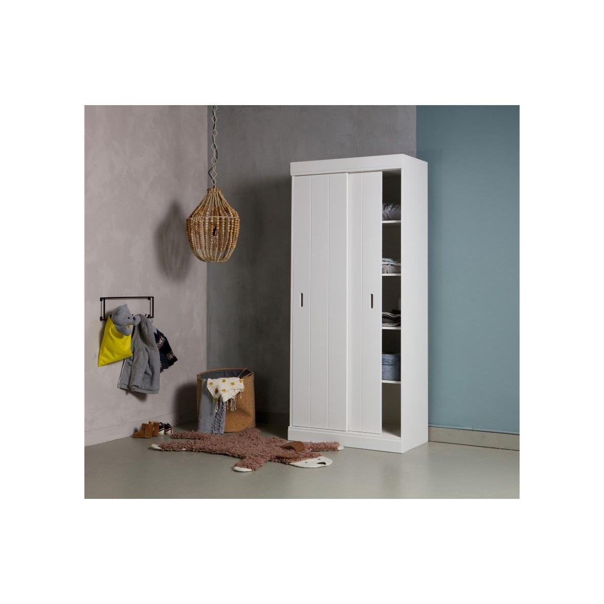 Garderobe 6 Haken Meert | Schwarz