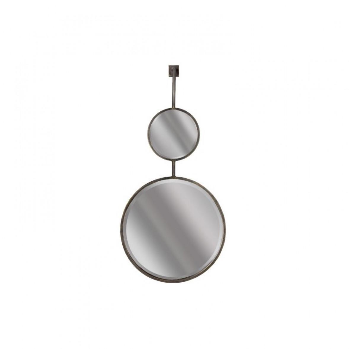 Spiegelkette doppelt groß | Schwarz