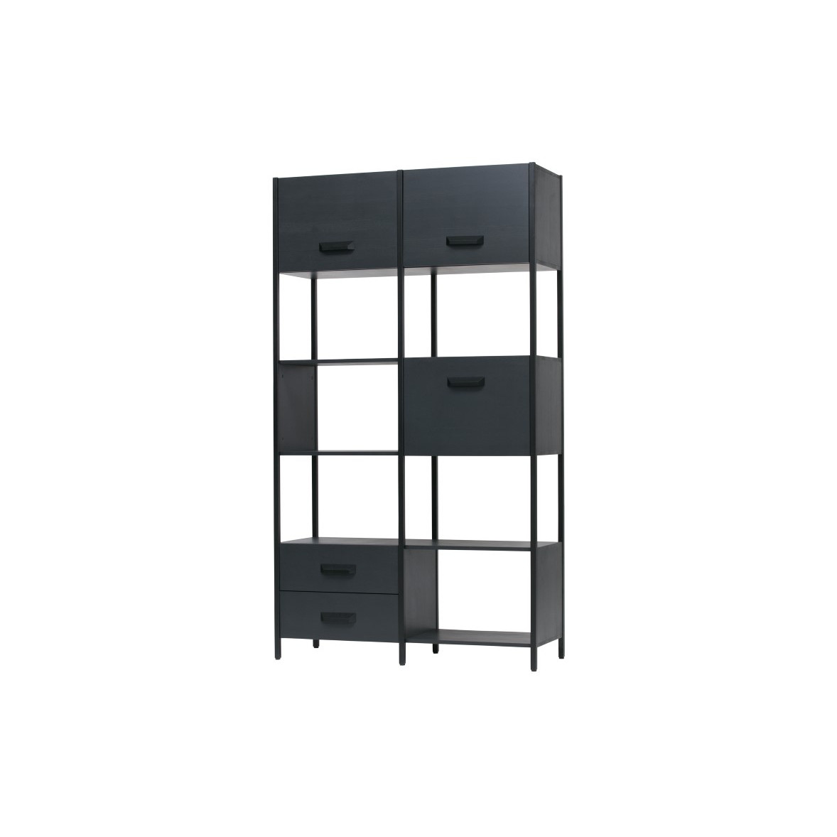 Open Cupboard Legacy | Black
