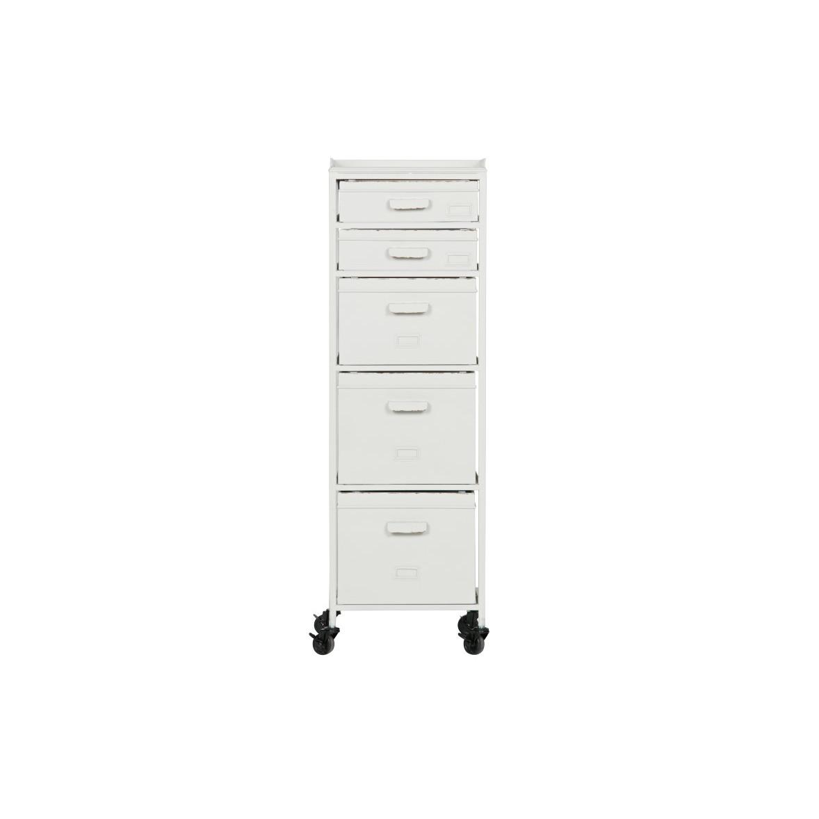 Cabinet Stuff | Metal White