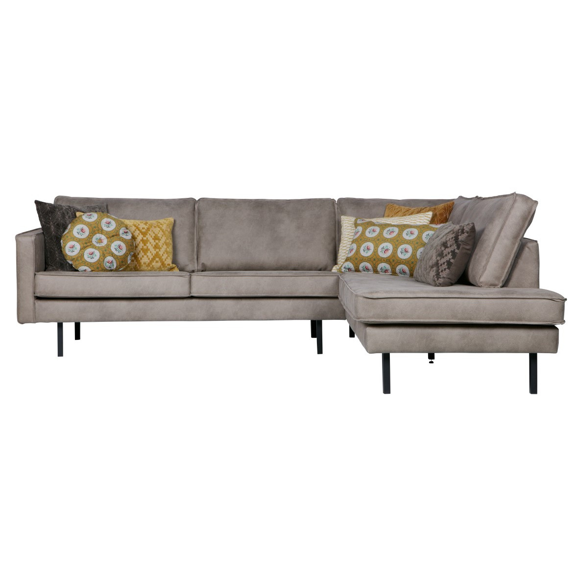 Right Corner Sofa Rodeo | Light Grey