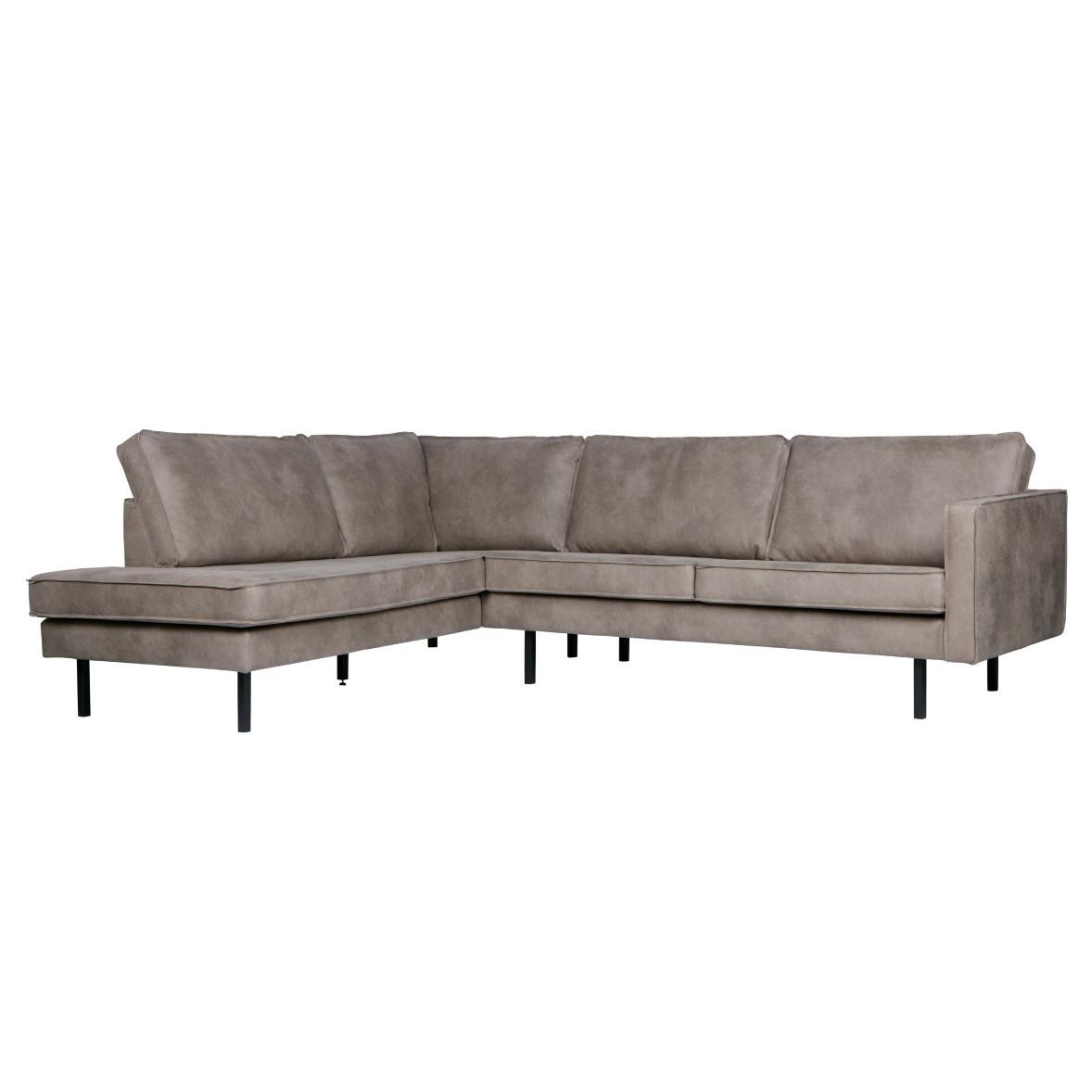 Left Corner Sofa Rodeo | Light Grey