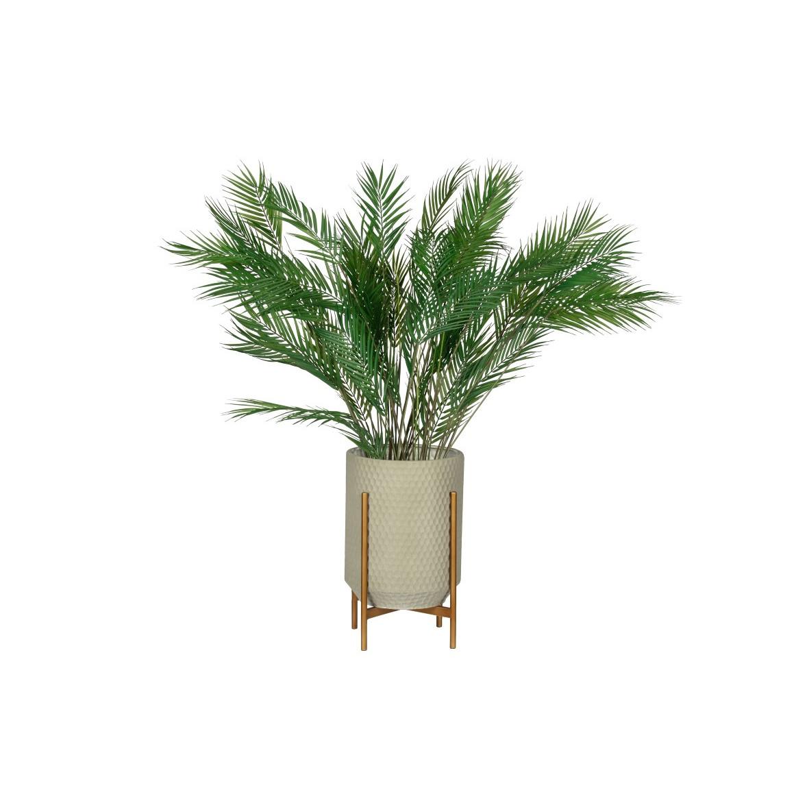 Plant Pot Juul | Metal | Grey