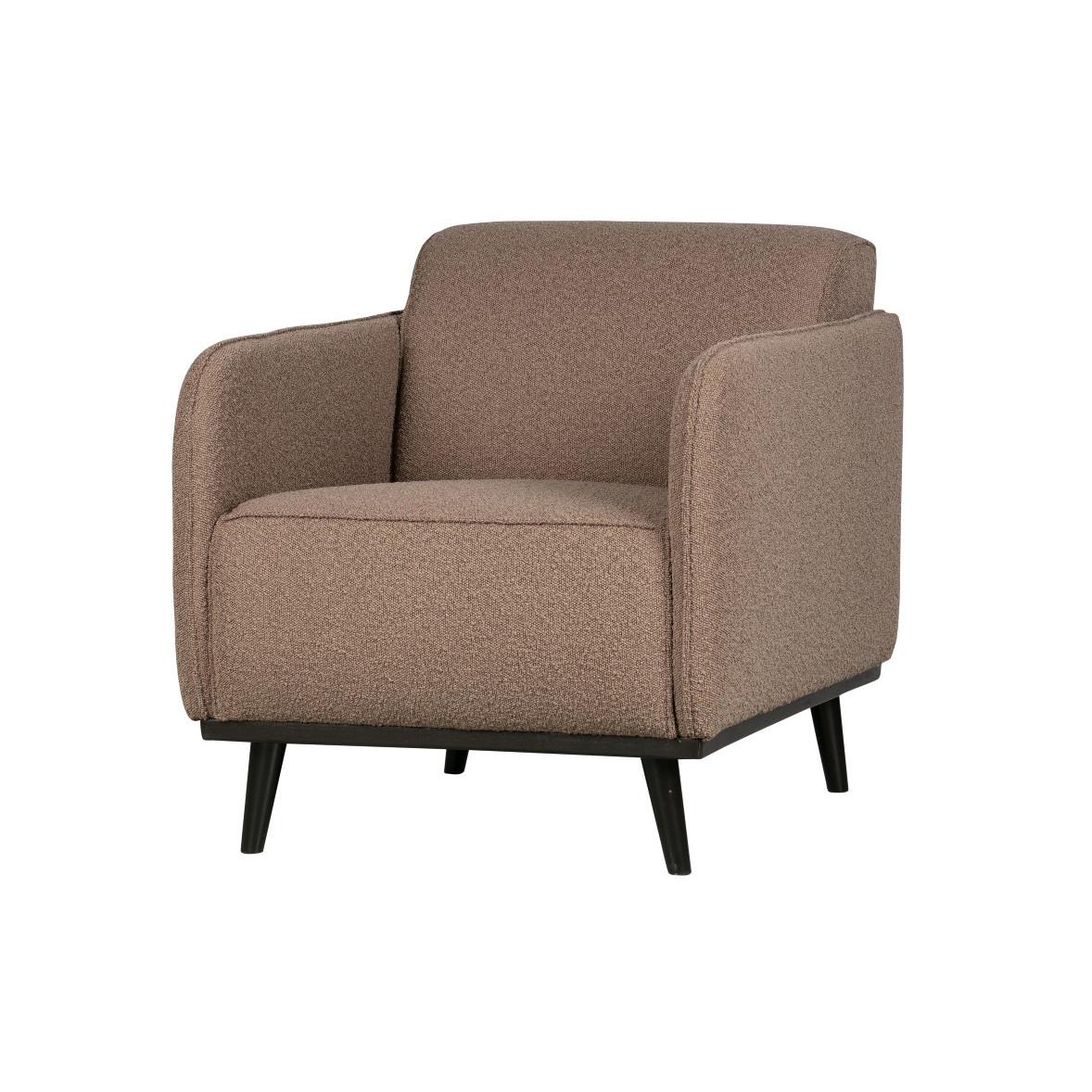 1 Seater Sofa Statement | Nougat Grey