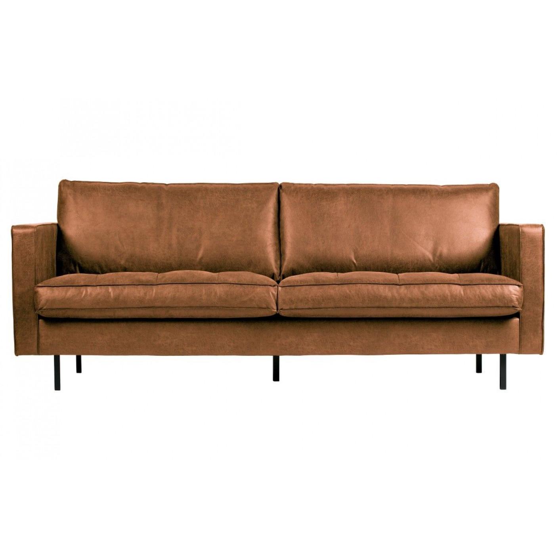 2,5 Seater Classic Sofa Rodeo | Cognac