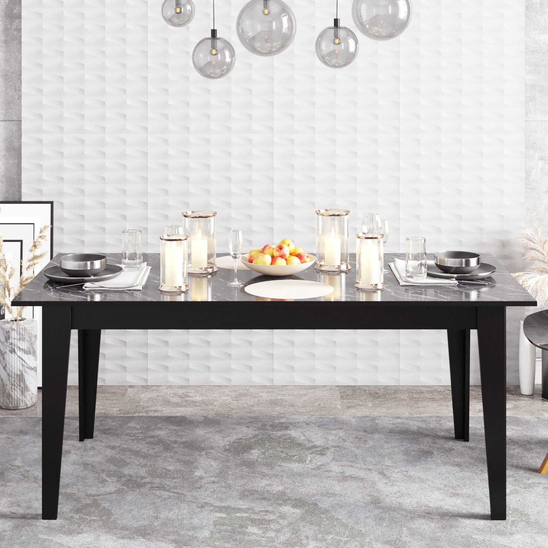 Dining Table Polka | Black