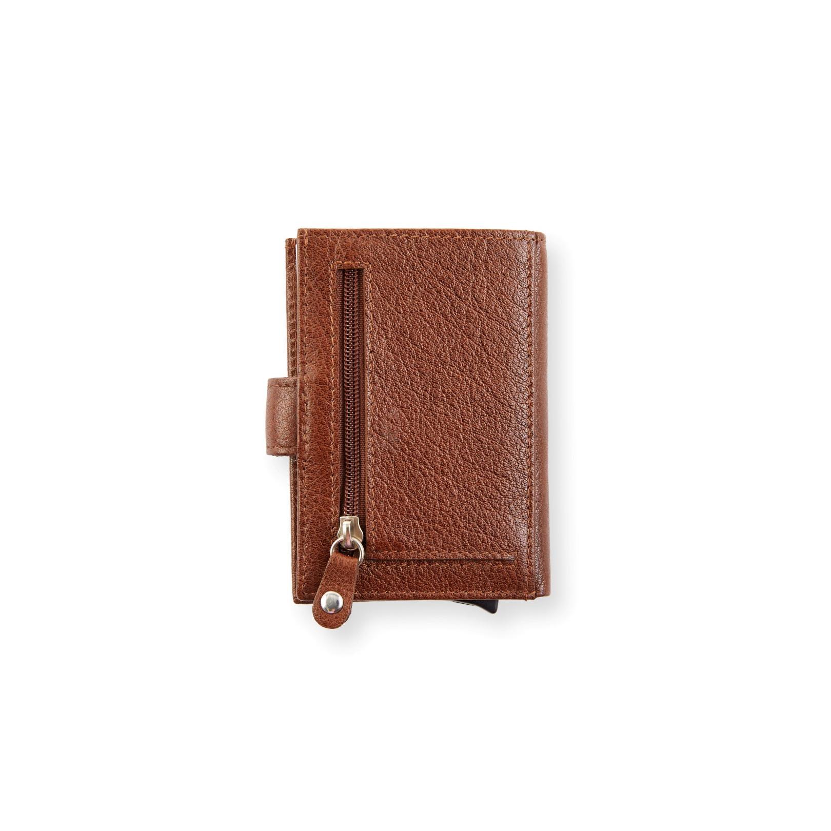 Intelligente Brieftasche aus Leder | Braun