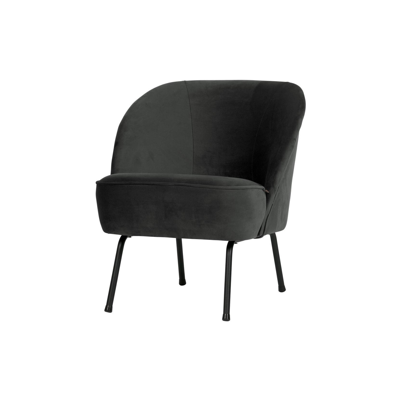 Sessel Vogue | Schwarz Samt