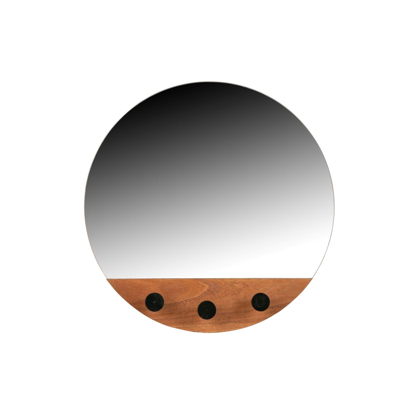Spiegel mit Haken Tyler ø 40 cm