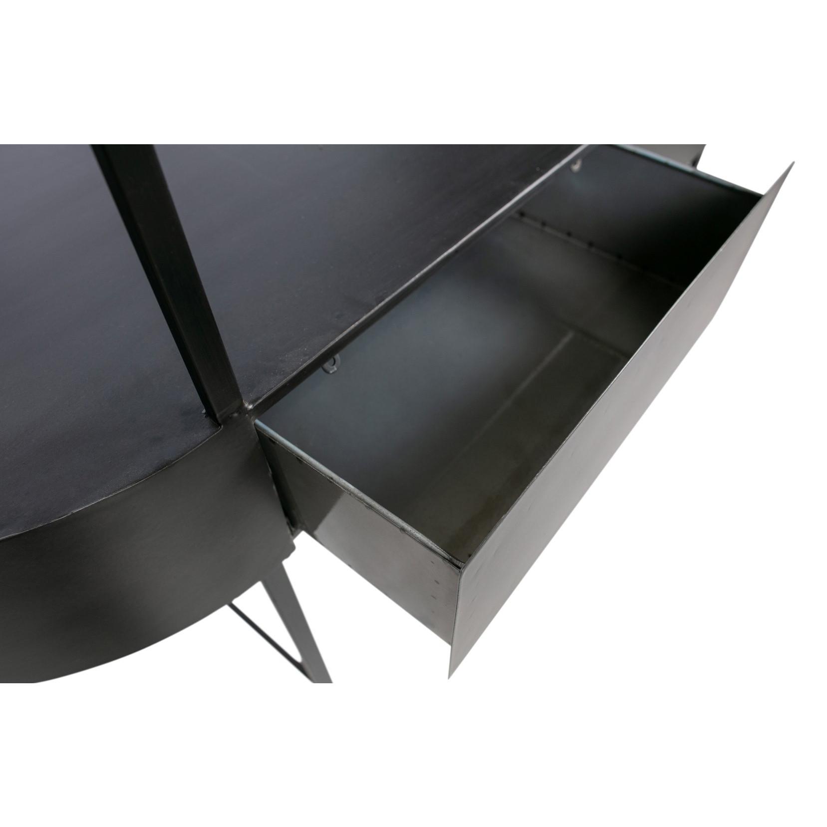 Beistelltisch Imani Metall | Dunkelgrau