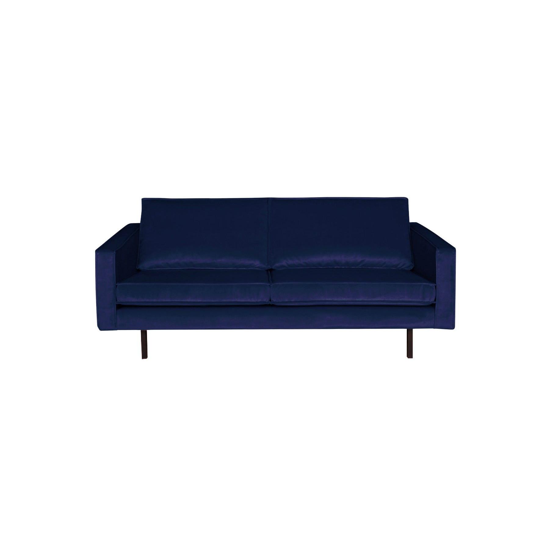 2,5-Sitzer Sofa Rodeo Samt | Dunkelblau