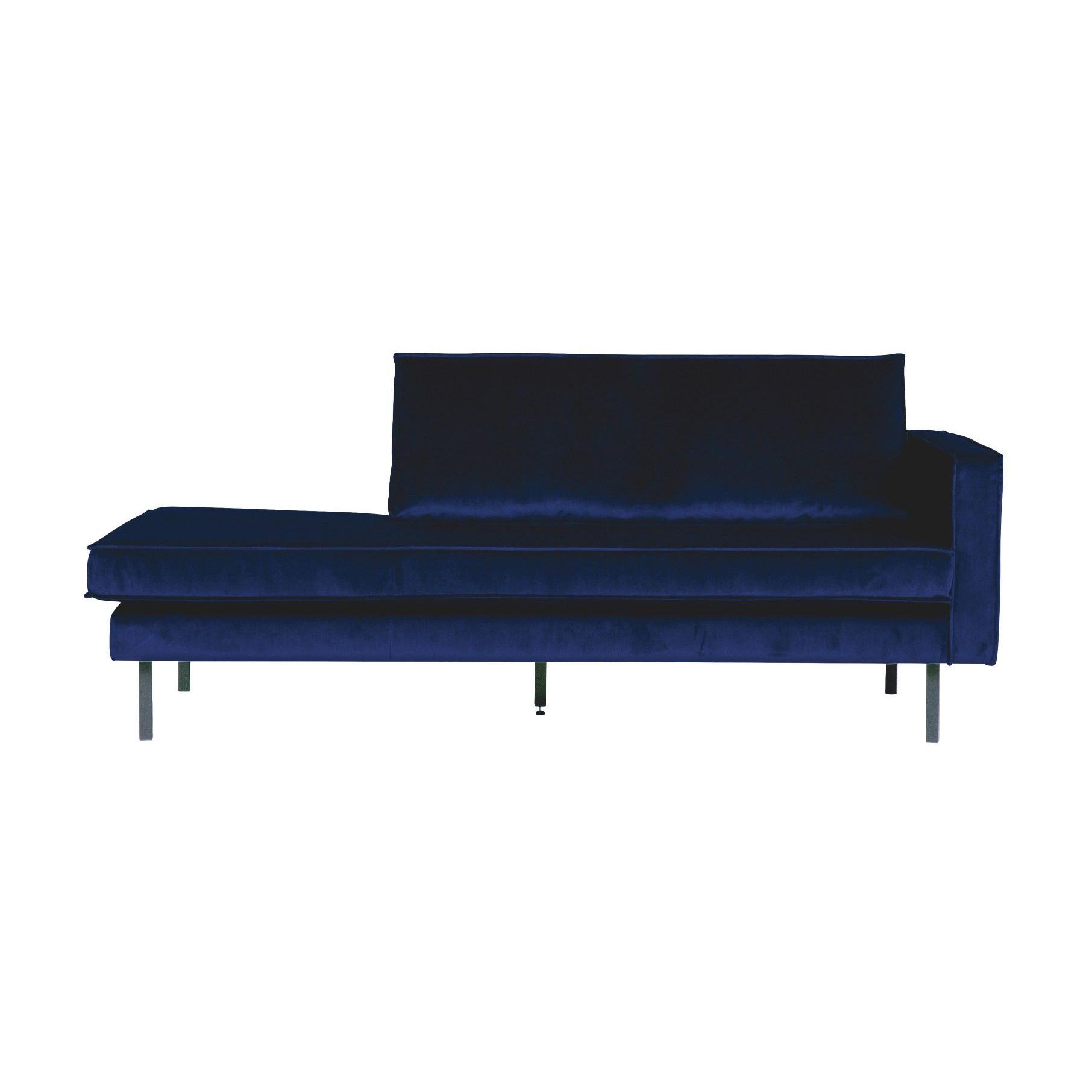Tagesbett mit Récamiere Rechts Rodeo | Blau