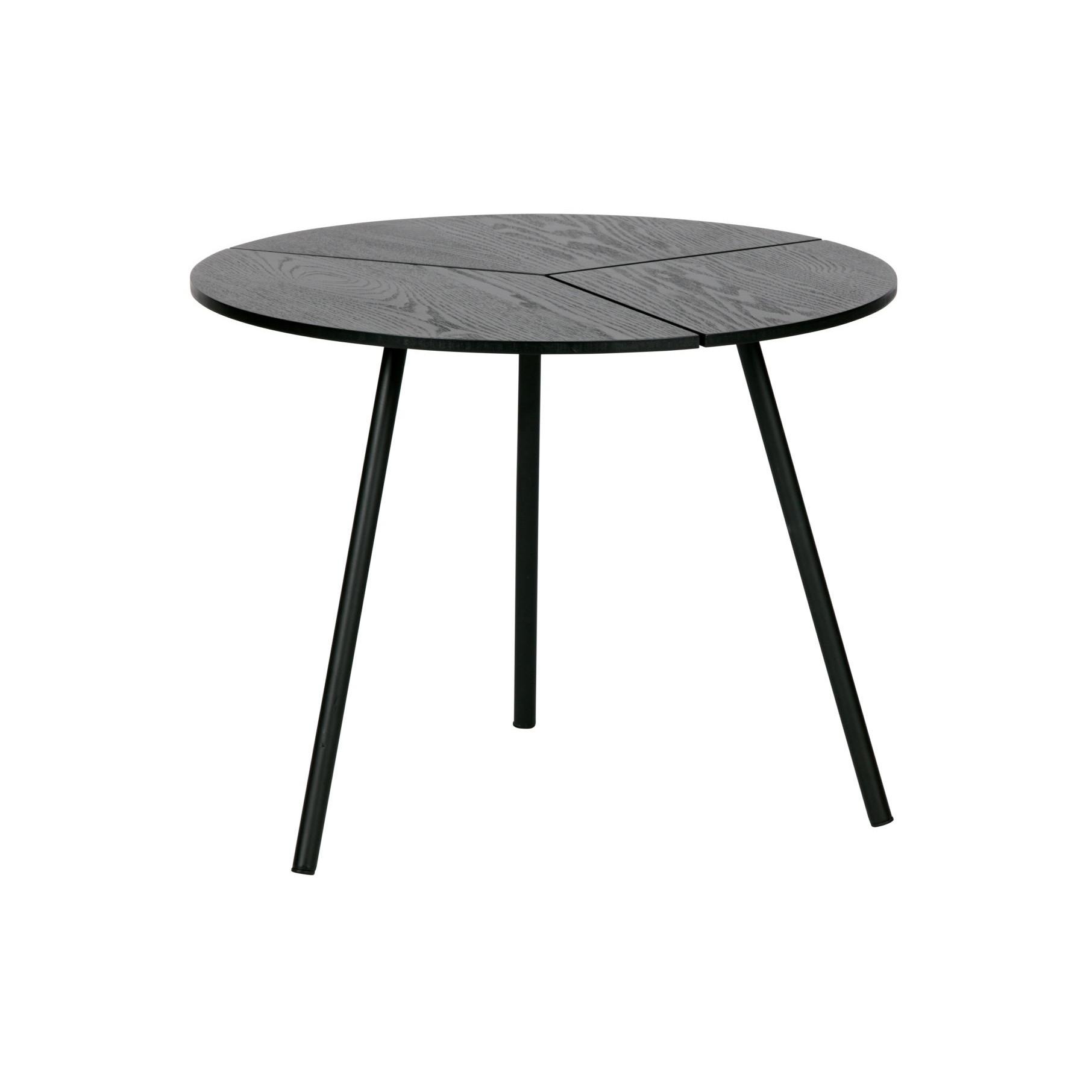 Side Table Rodi | Black / Metal
