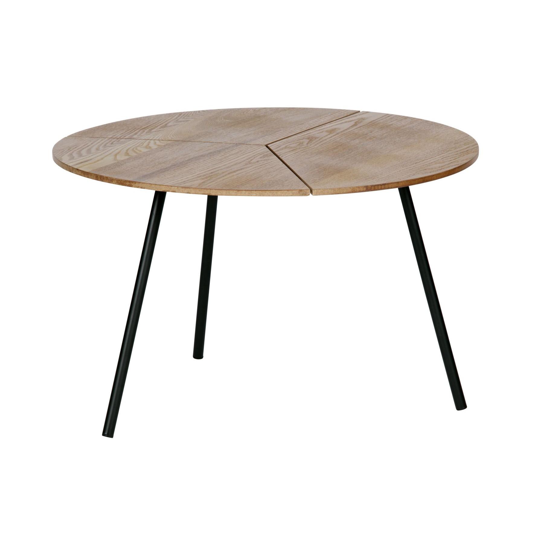 Side Table Rodi | Brown / Metal