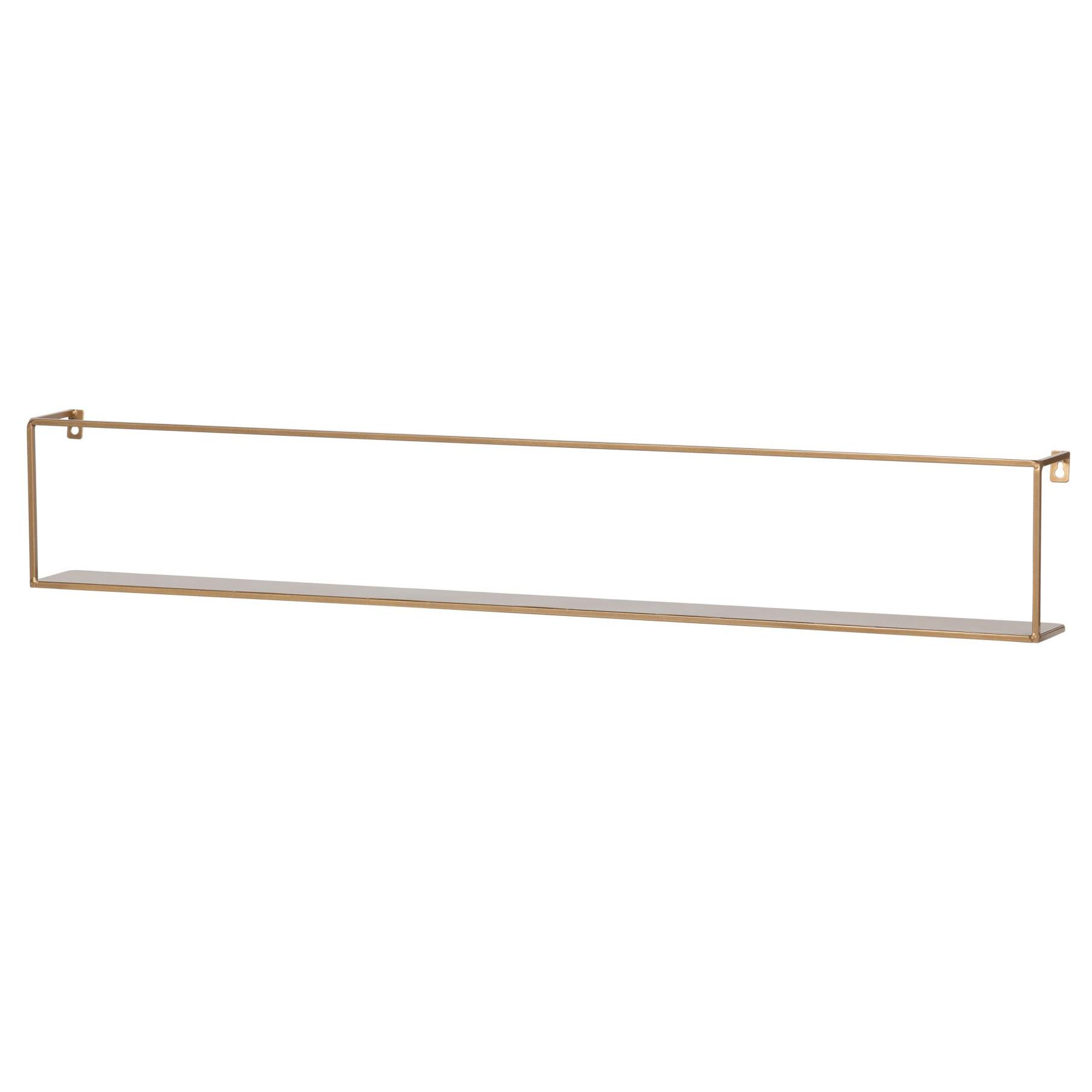 Wall Shelf Meert Gold | 100 cm