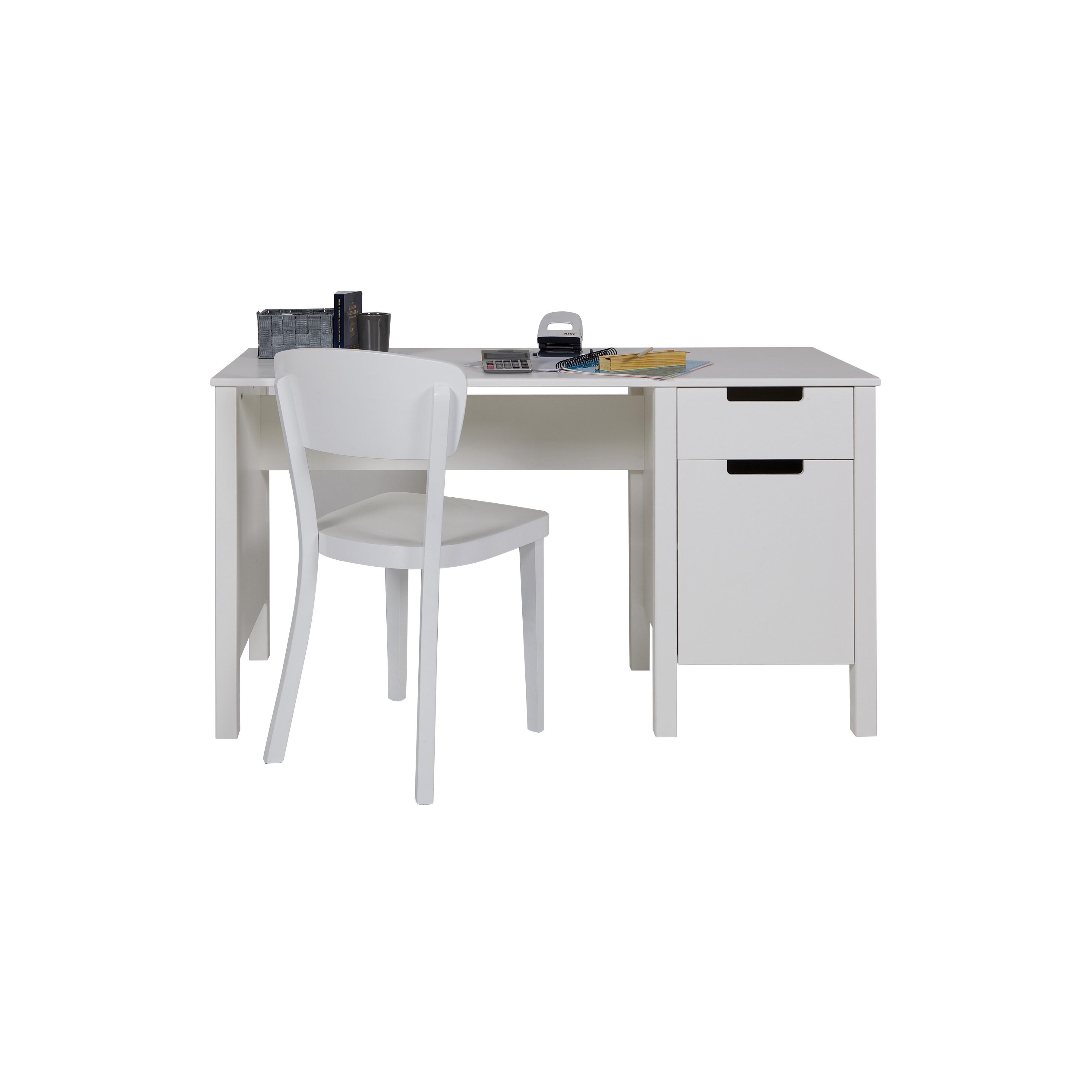 Schreibtisch Jade | Weiß