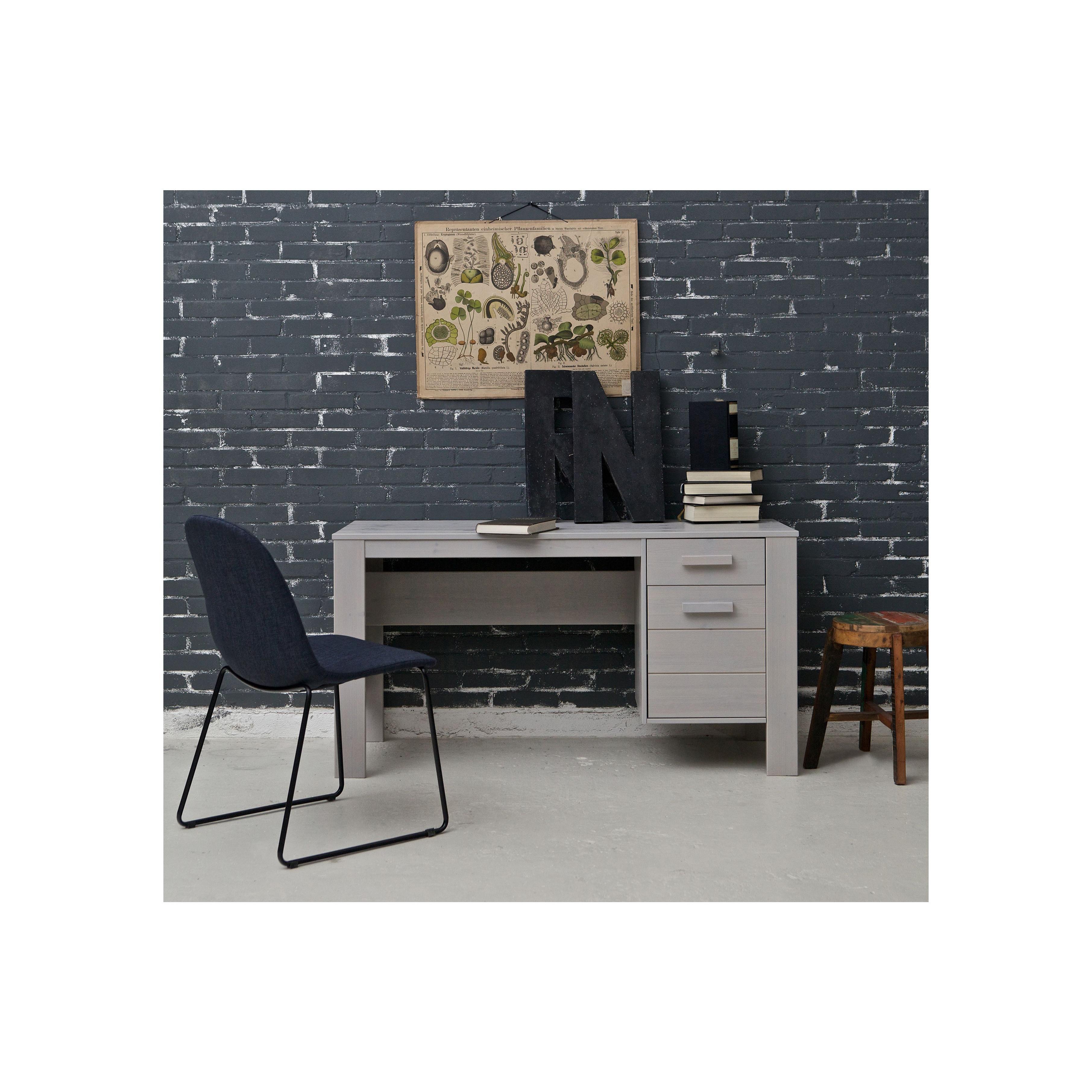 Dennis Desk | Concrete Grey