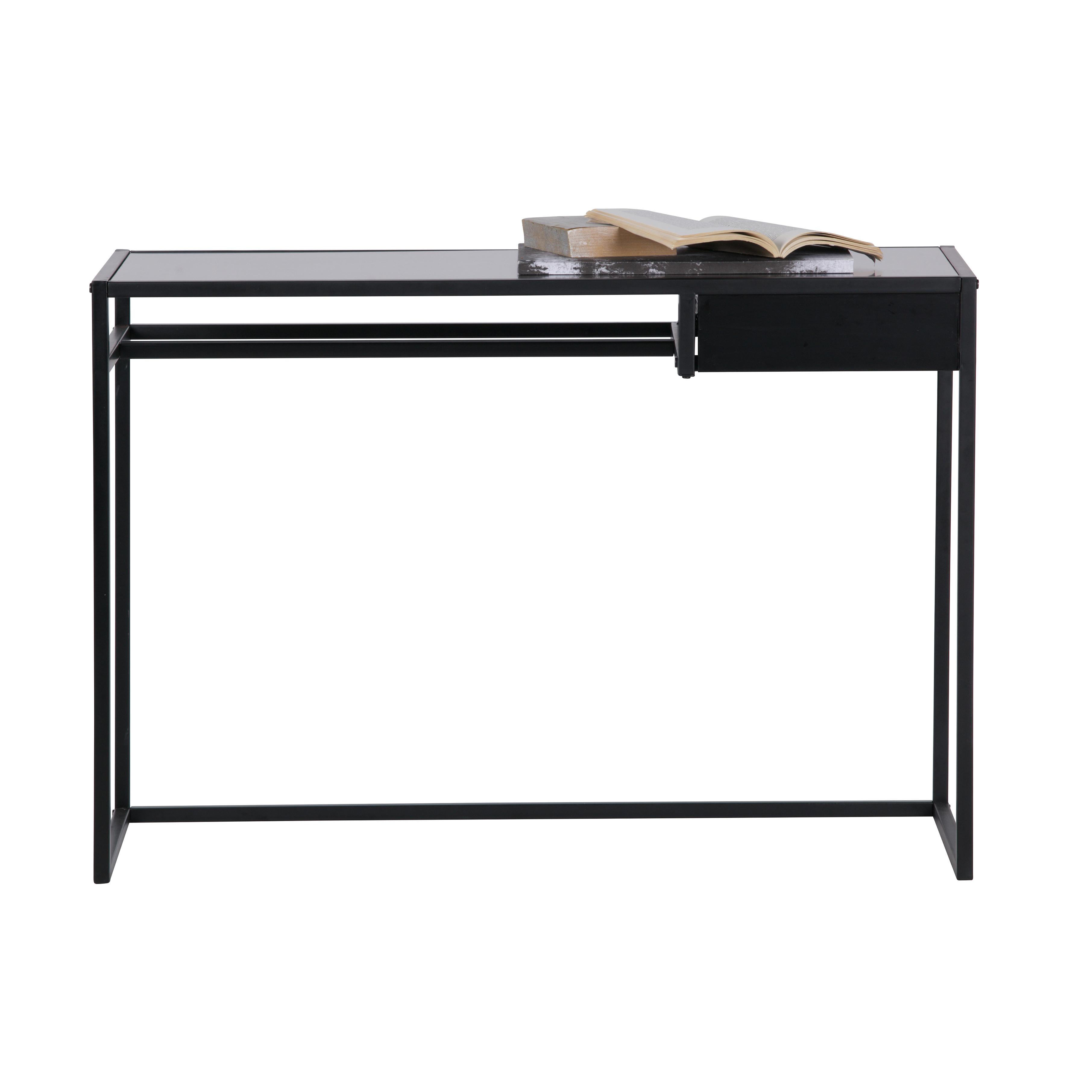 Schreibtisch Teun | Schwarz