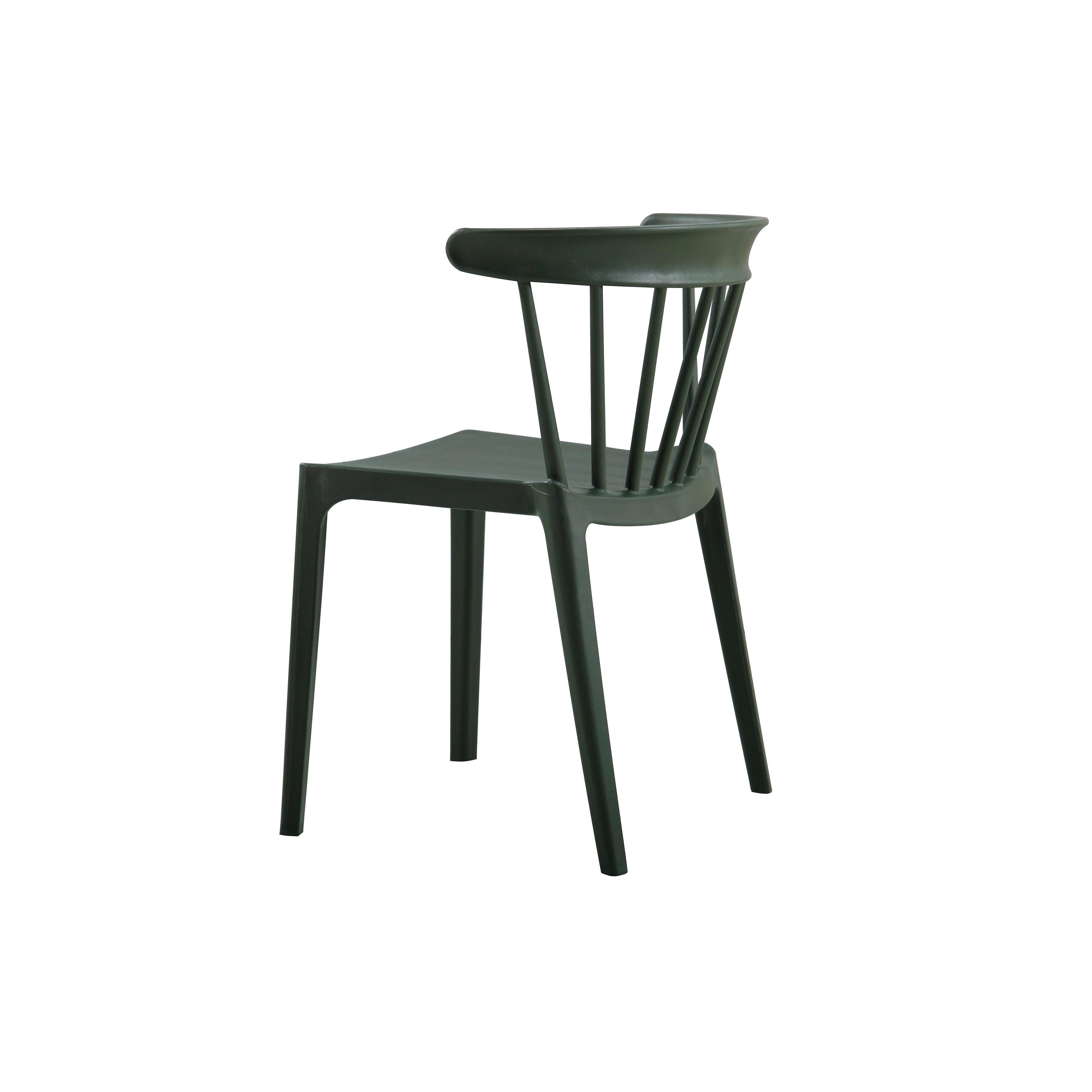 Outdoor-Stuhl Bliss | Dunkelgrün