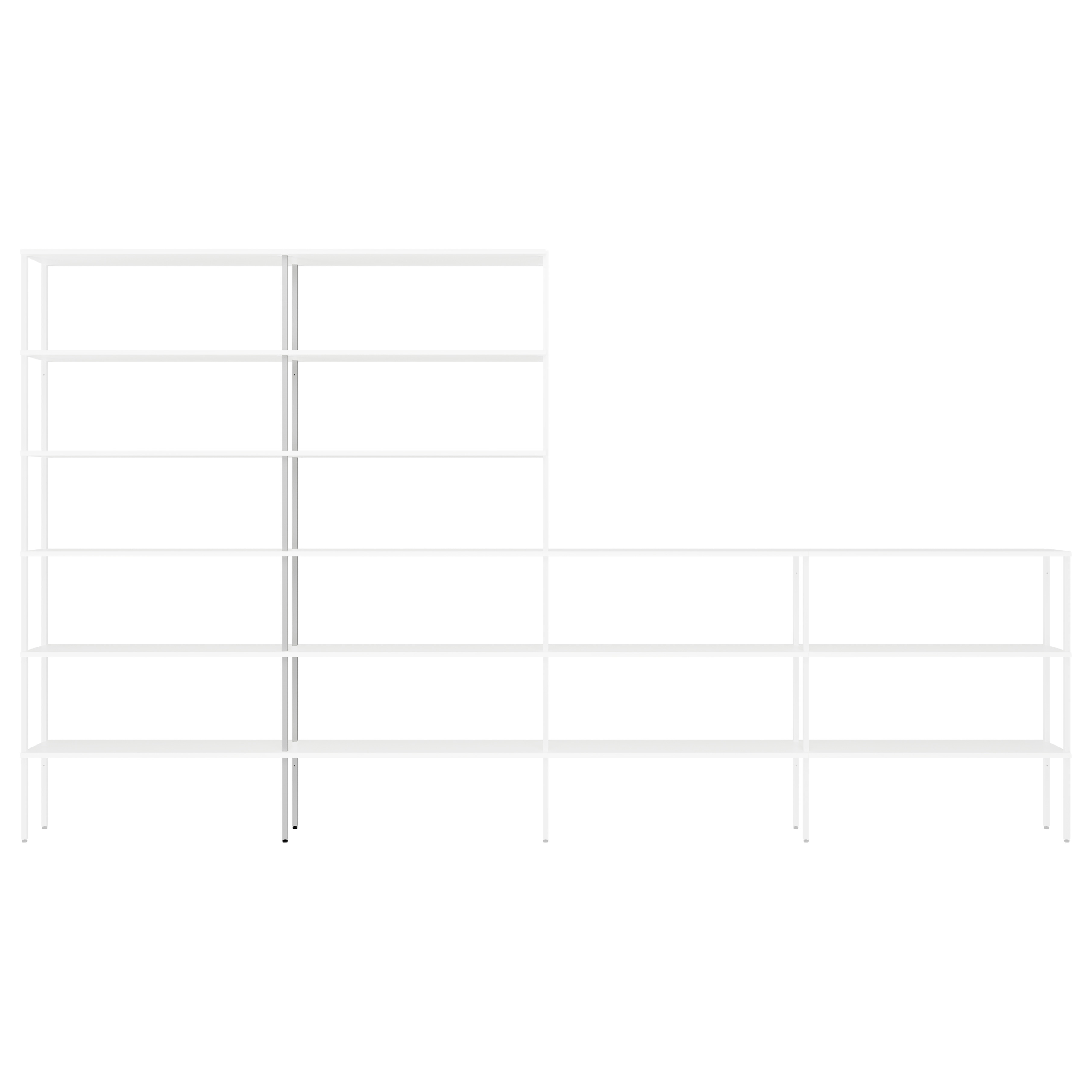 Rack Uprights High Middle Set of 2 | White