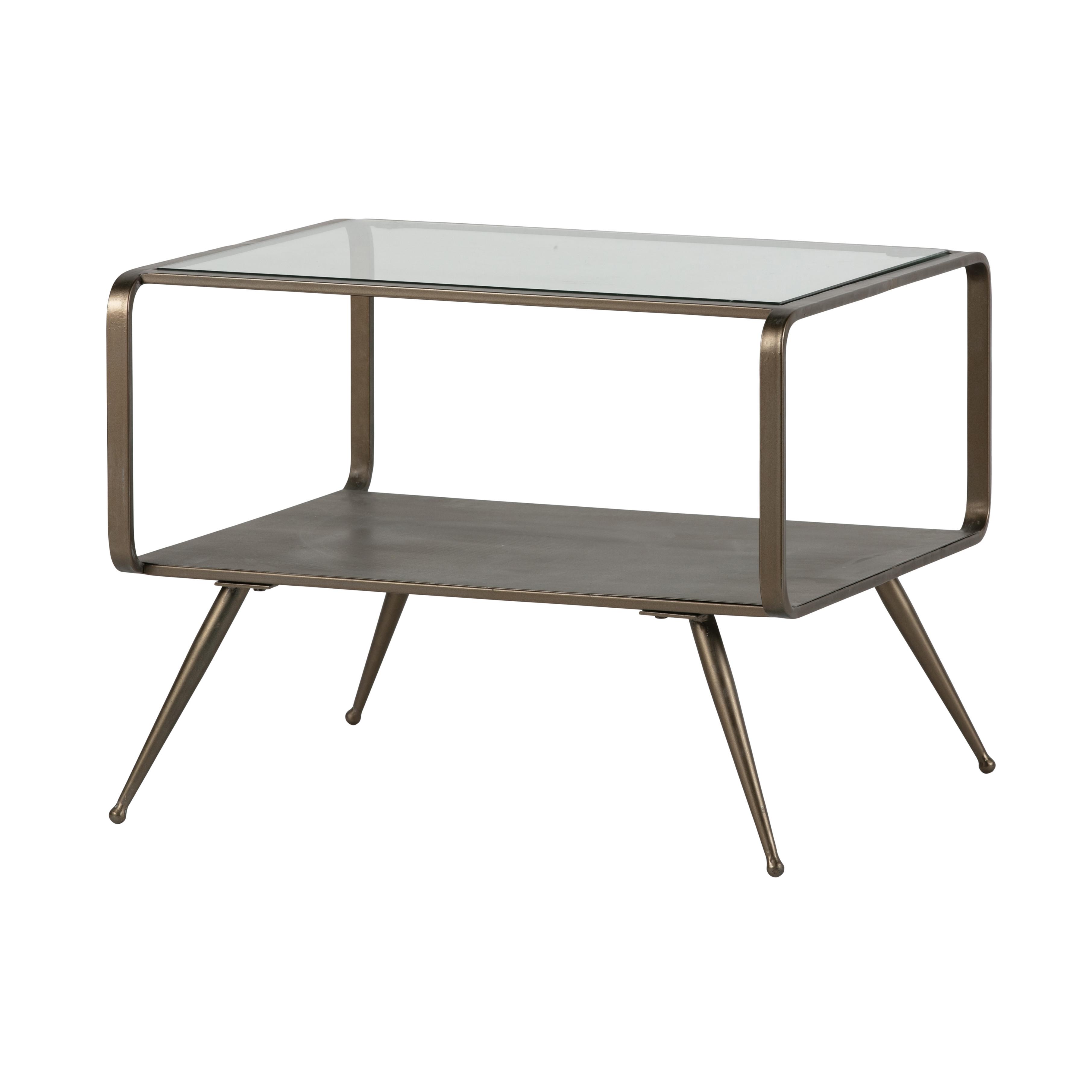 Side Table Fancy   Brass