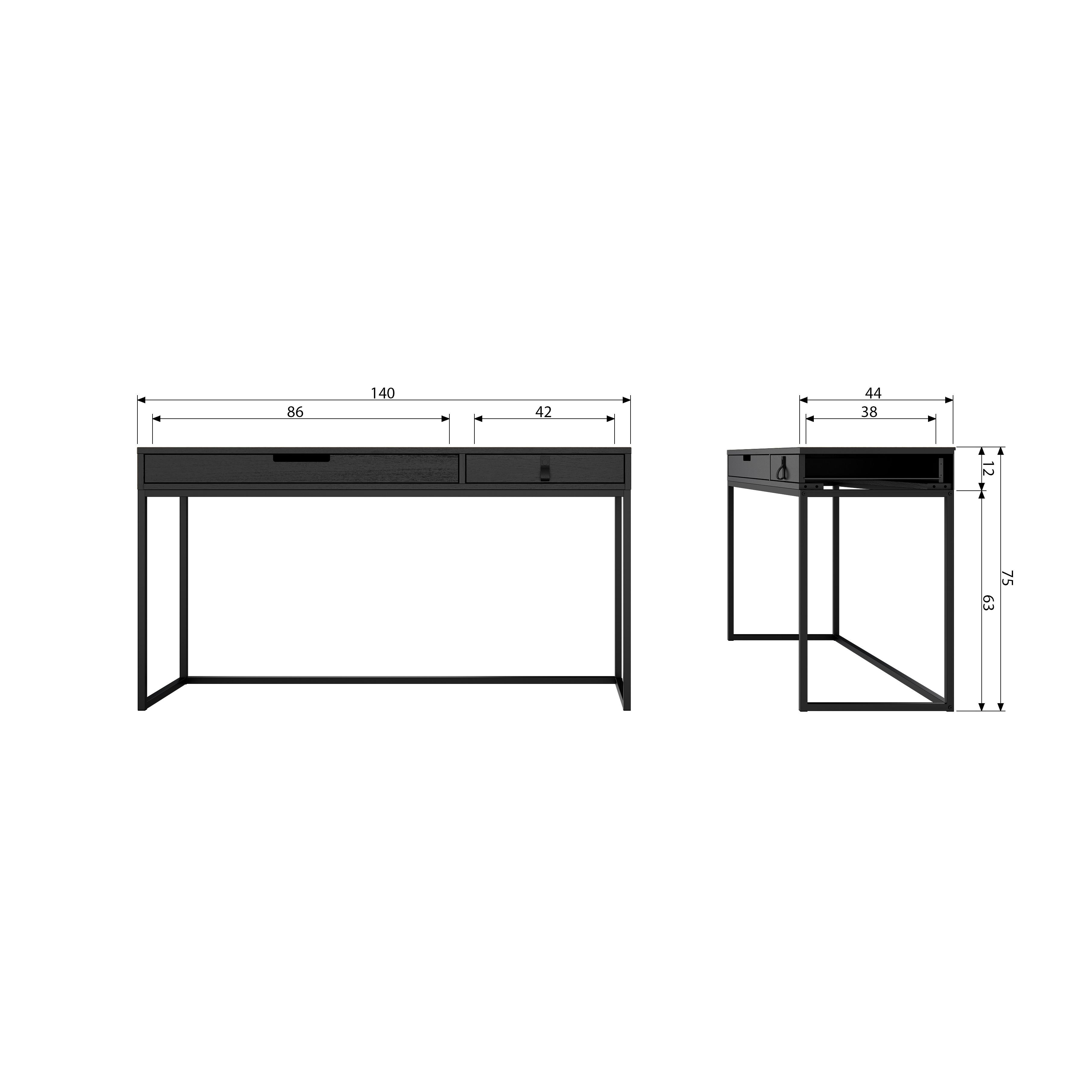 Desk Silas | Black