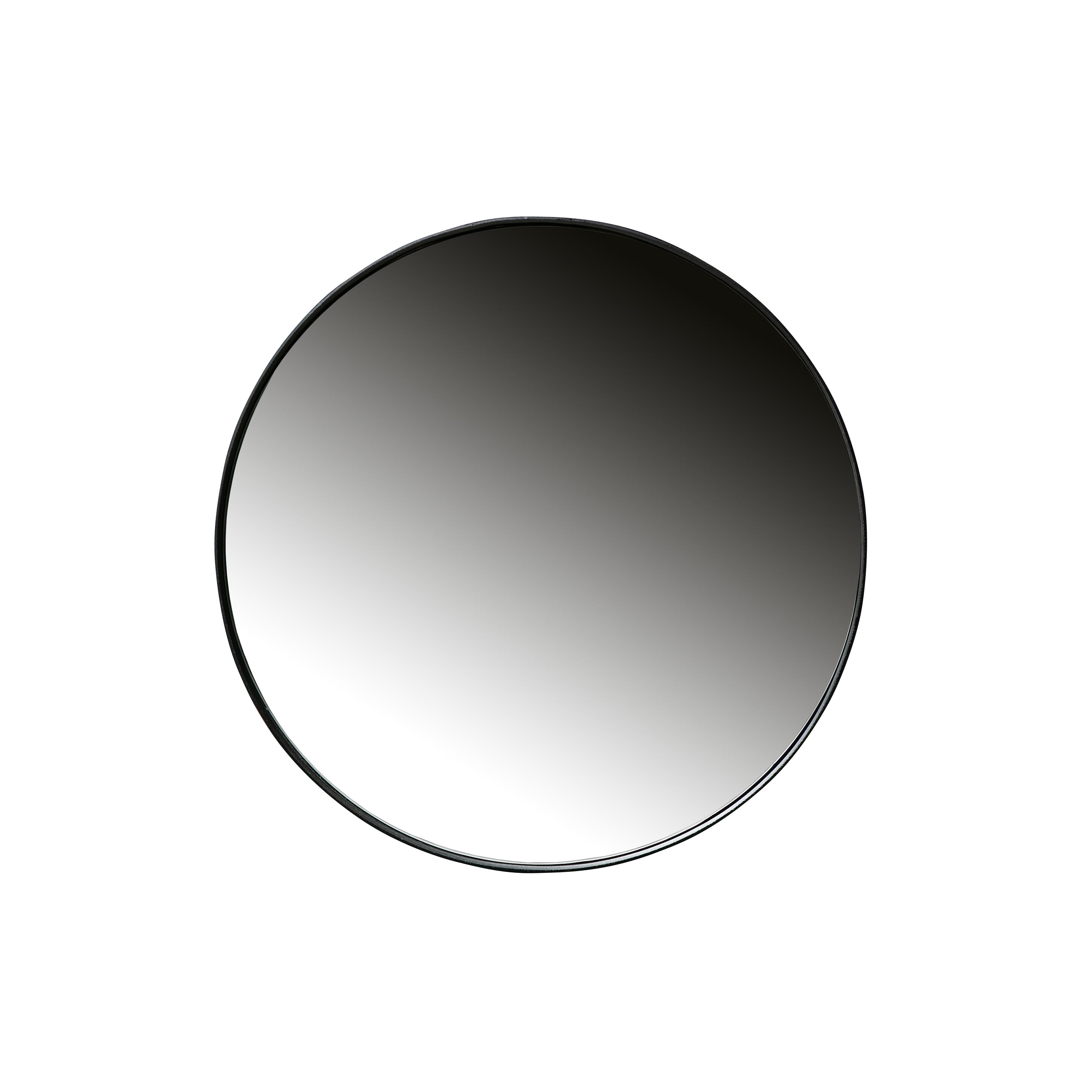 Spiegel Doutzen 80 cm   Metall   Schwarz