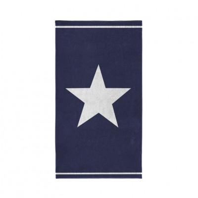 Beach Towel Star   Blue