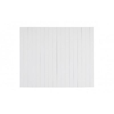 Flexible Armlehnenablage aus Holz XL | Weiß