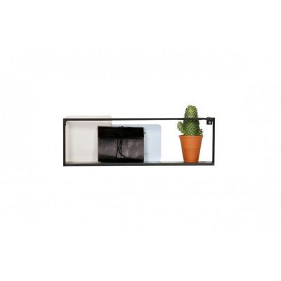 Wandregal Meert 50 cm | Schwarz