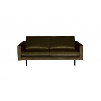 2,5-Sitzer Sofa Rodeo Samt | Grün