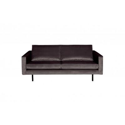 2,5-Sitzer Sofa Rodeo Samt | Anthrazit