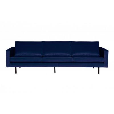 3-Sitzer-Sofa Rodeo Samt | Dunkelblau