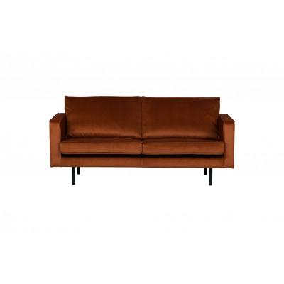 2,5-Sitzer Sofa Rodeo Samt | Rost