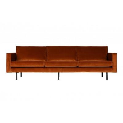 3-Sitzer-Sofa Rodeo Samt | Rost