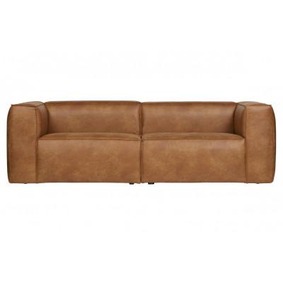 3 Sitzer Sofa Bean | Cognac