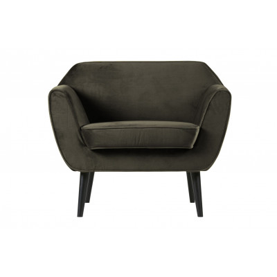 Armchair Rocco Velvet | Green