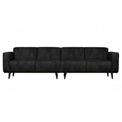4er-sofa Statement L 280 cm | Schwarz
