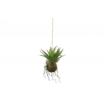 Künstliche Pflanze hängend grün | 30 cm