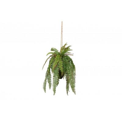Künstliche Pflanze hängend grün | 58 cm