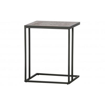 Beistelltisch Vic U Holz/Metall