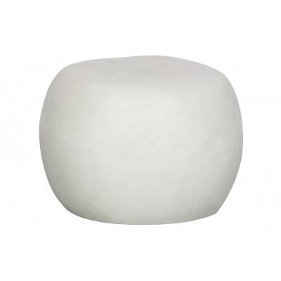 Beistelltisch Pebble | Weiß